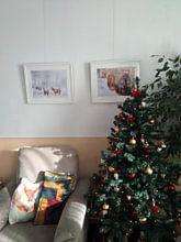 Klantfoto: Winter wonderland van Joyce Beukenex, als fotoprint