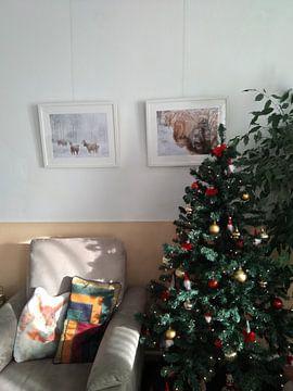 Klantfoto: Winter wonderland van Joyce Beukenex