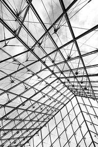 Schwarzweiß Abstrakt Architektur