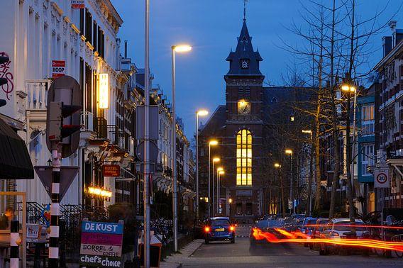 F.C. Dondersstraat in Utrecht met het Ooglijdersgasthuis van Donker Utrecht