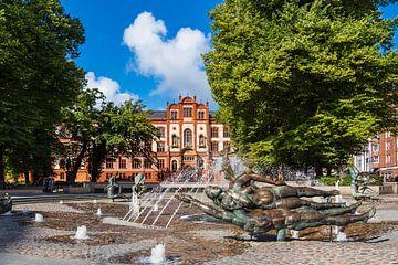 Blick auf die Universität in Rostock von Rico Ködder