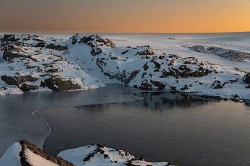 Warmer Schnee von Twan van Vugt
