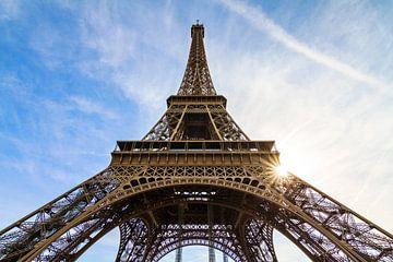 Eiffeltoren Parijs wide