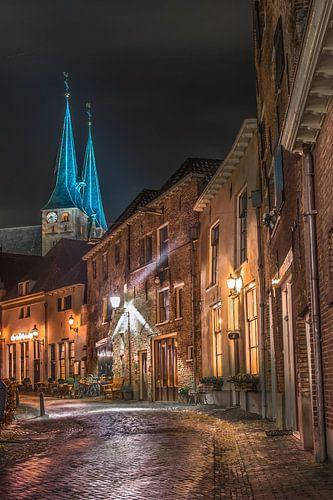 Roggestraat in Deventer van Edward Sarkisian