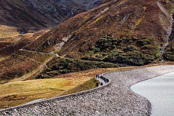 Silvretta-Staudamm von Rob Boon