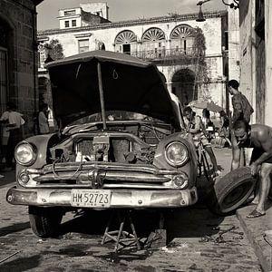 Dodge in repair