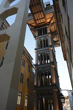 Lissabon Santa Justa-Aufzug von Philippe Wuestenbergs