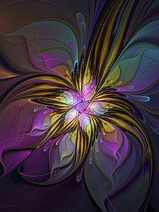 Florale Abstraktion