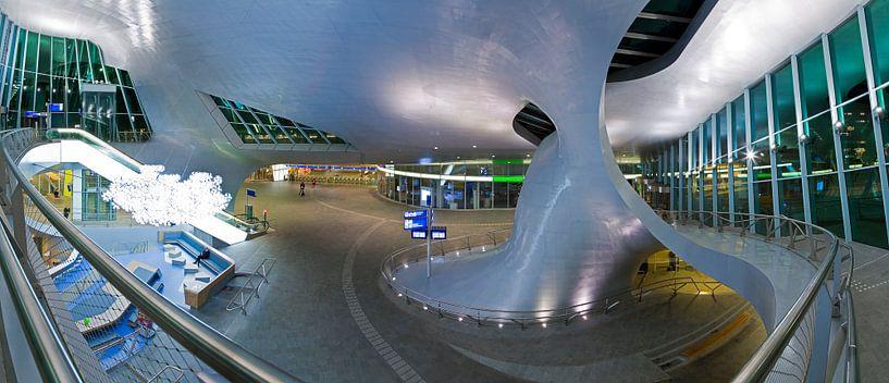 Panorama stationshal centraal station Arnhem van Anton de Zeeuw
