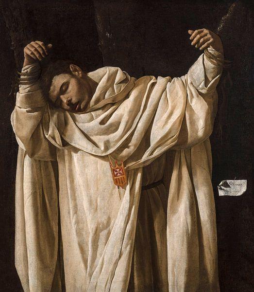 Le saint Séraphin, Francisco de Zurbarán - 1628 sur Het Archief
