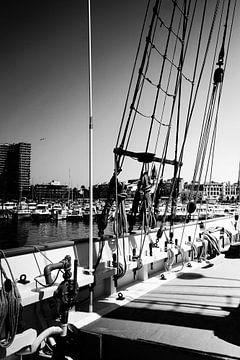 Caravelle ancienne, noir et blanc sur Arianor Photography