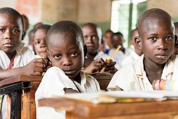 Basisschool in Tanzania van Jeroen Middelbeek