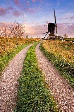 Chemin vers le moulin