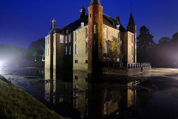 Slot Zuylen aan de Vecht in Oud-Zuilen in Utrecht van Donker Utrecht