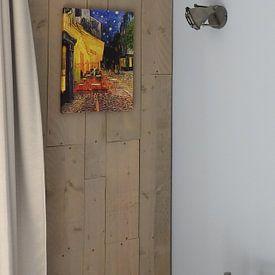 Photo de nos clients: Caféterras bij nacht van Vincent van Gogh sur Rebel Ontwerp