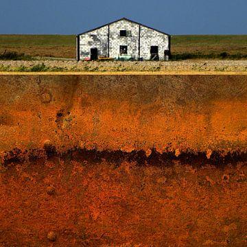 Abstrakte Holländische Landschaft sur Ger Veuger