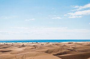 Maspalomas strand van Nick van Dijk