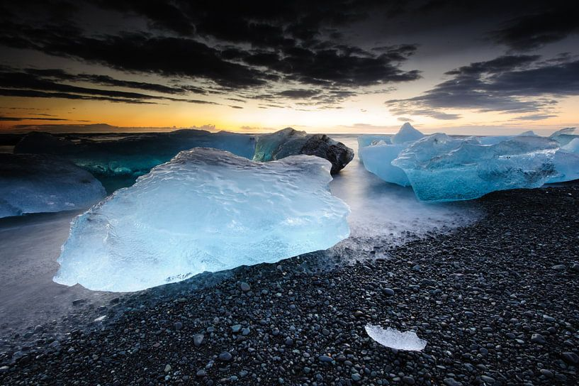 Ancient ice sur Sjoerd Mouissie