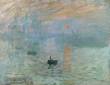 Zonsopgang (Impression, soleil levant), Claude Monet