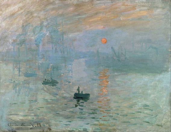 Claude Monet Ipression, soleil levant von Meesterlijcke Meesters