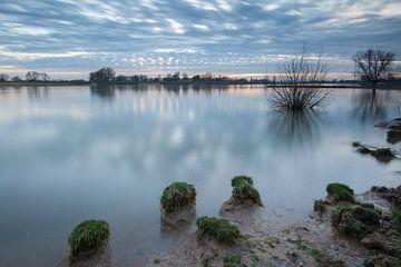 Hoogwater in de Lek van Peter Haastrecht, van