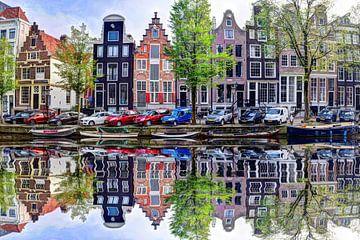 Vue du Herengracht 58 sur