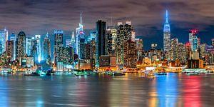 New York Skyline Panorama von Sascha Kilmer
