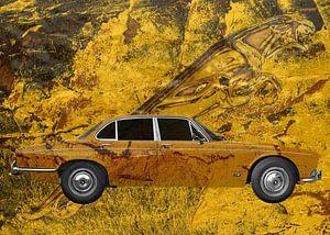 Jaguar XJ Art Car met Leaper
