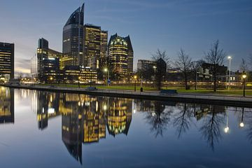 Skyline Den Haag van Remco Swiers