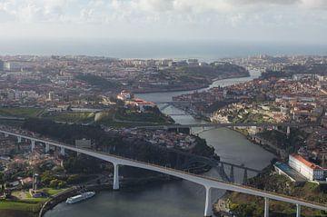 douro rivier in Porto van