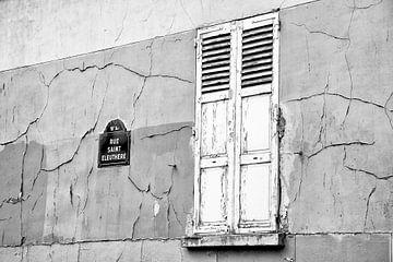Rue Saint Eleuthere von Marit Lindberg