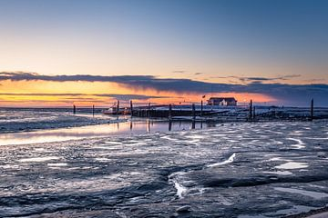 Ameland zonsopkomst van Ron van Ewijk