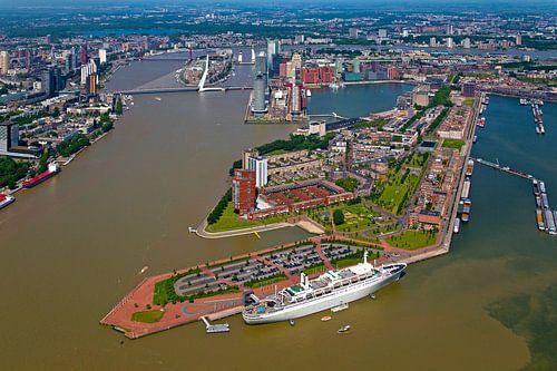 Luchtfoto Katendrecht te Rotterdam