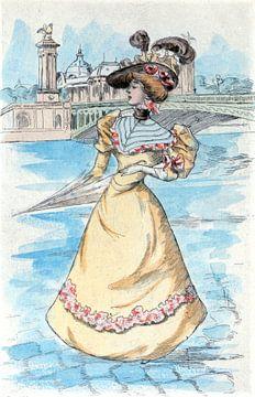 Mode 1900, Mode in het negentiende-eeuwse Parijs, Henri Boutet, (1851 1919)