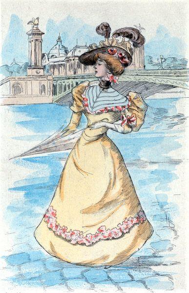 Mode 1900, Mode in het negentiende-eeuwse Parijs, Henri Boutet, (1851 1919) van Liszt Collection