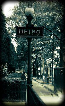Metro Paris van MirjamCornelissen - Fotografie
