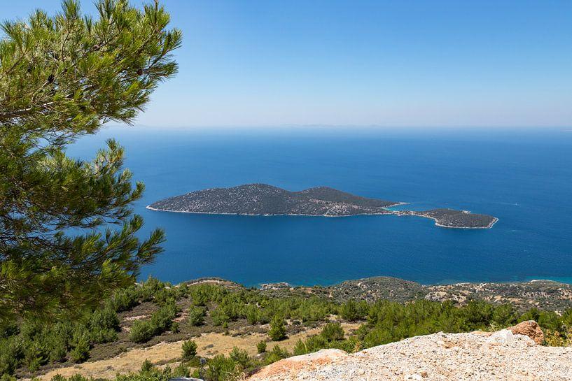 Samiopoula Griekenland van Elly Damen