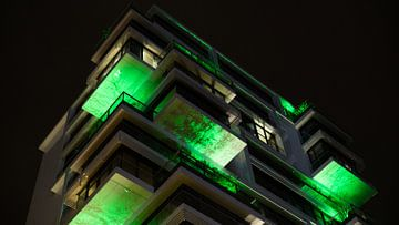 Modern gebouw ergens in Berlijn van Wijnand Groenen