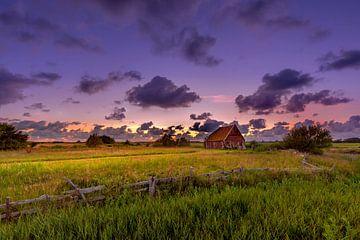 Sonnenuntergang auf Texel von Andy Luberti