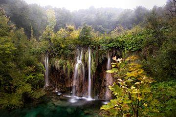 Plitvice watervallen sur Roy Poots