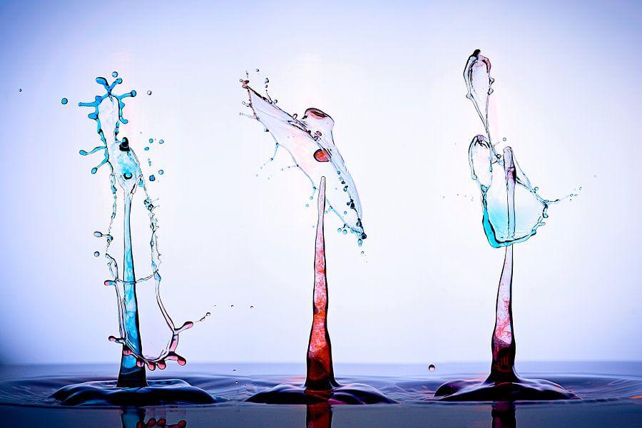 3 Kleurrijke splashes van Luc V.be