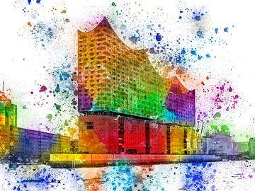De nieuwe Elbphilharmonie in Hamburg van