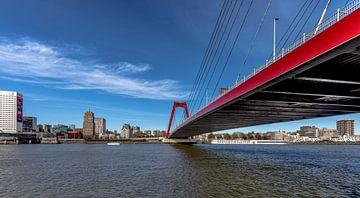 Rotterdam Willemsbrug von Angelique Niehorster