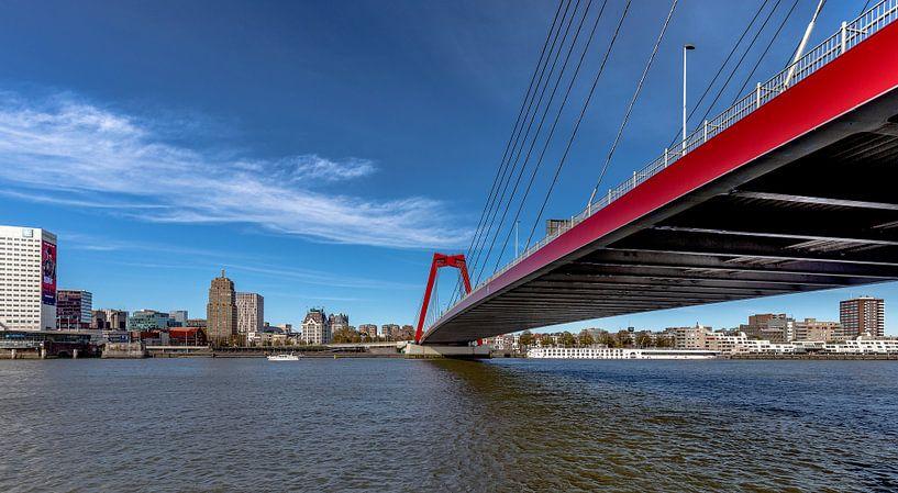 Rotterdam Willemsbrug van Angelique Niehorster