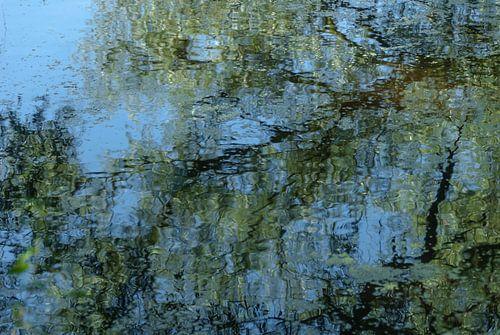 Reflectie op Monet van