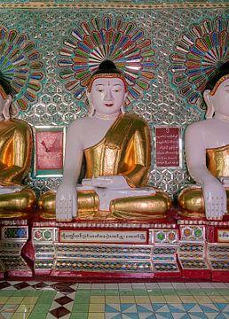 Sagaing Township: U Min Thonze Cave van Maarten Verhees