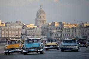 oldtimers in Cuba. van Tilly Meijer