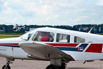 Sportvliegtuigen op Airport Lelystad van Ina Hölzel