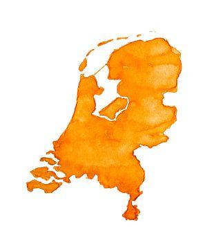 Nederland is Oranje | Ook als Wandcirkel