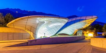 Gare de montagne de la Hungerburgbahn à Innsbruck sur Werner Dieterich